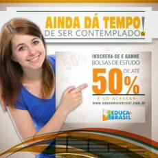 Educa Mais Brasil abre inscrições para bolsas de estudo!
